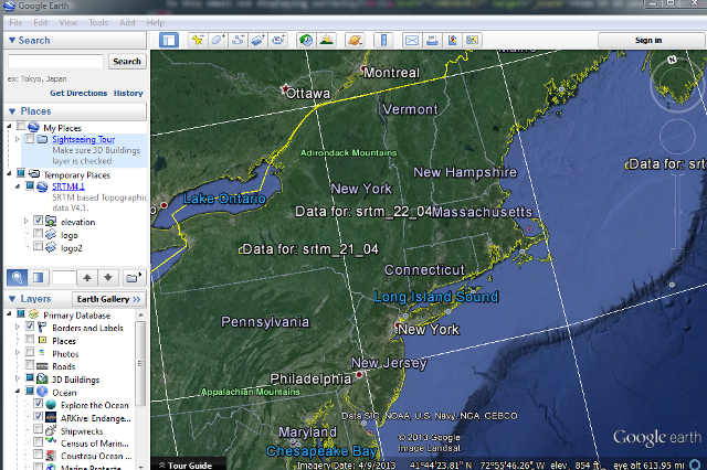 Google Maps with overlay