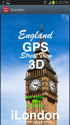 London GPS Street View 3D