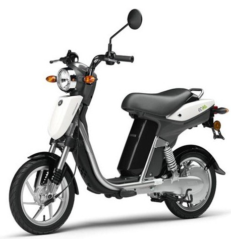 motor specification interests and hobbies yamaha ec 03 electric scooter new way to travel. Black Bedroom Furniture Sets. Home Design Ideas