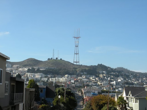 Dolores Heights Stairway Walk in San Francisco - Twin Peaks