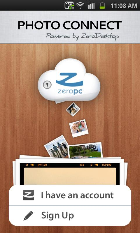 ZeroPC Photo Connect - screenshot