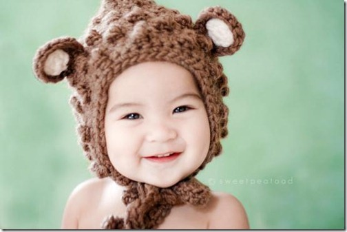 b267b7d18a3af Gorros para bebé con cabezas de animales para disfraz » Nos Disfrazamos