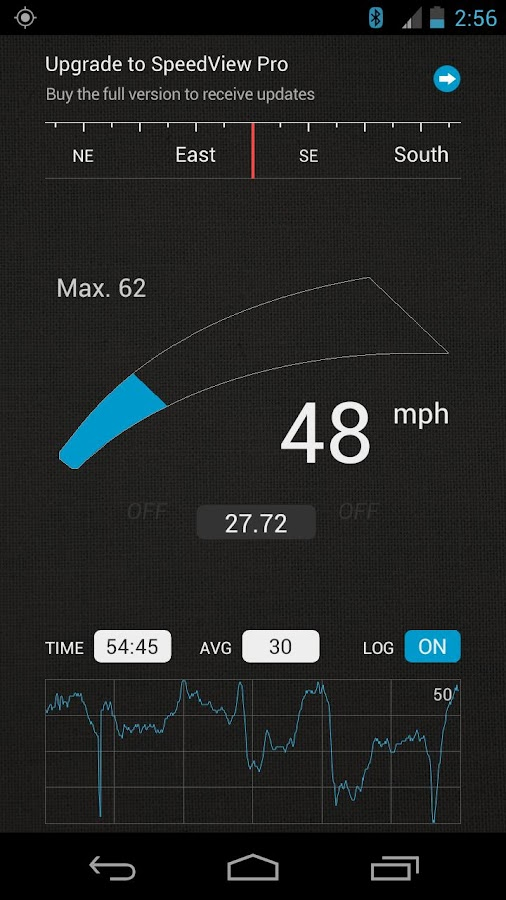 SpeedView: GPS Speedometer - screenshot