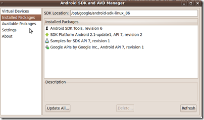 Setting-up Netbeans IDE for Android application development on GNU