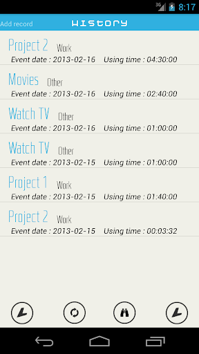【免費生產應用App】Lyubishchev time recording-APP點子