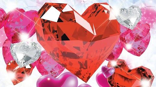 Diamanten herzen
