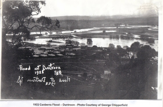 Flood at Duntroon