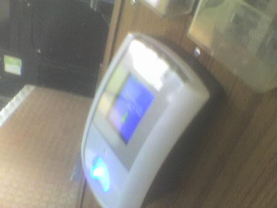 Swipe machine