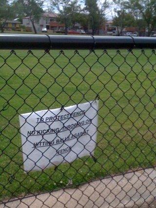 fragile fence