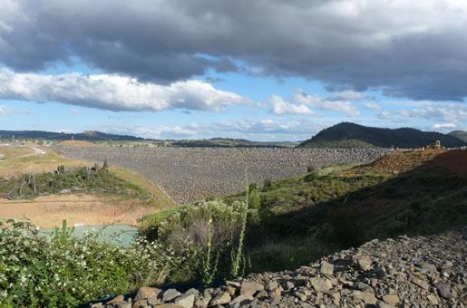 Cotter Saddle Dam