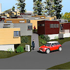 miniHOME student residence proposal, Berkeley