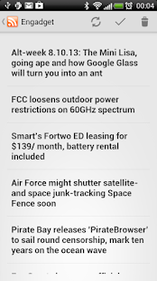 SimpleRSS (rss / feed reader)- screenshot thumbnail