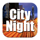 City Night HDR Wallpaper