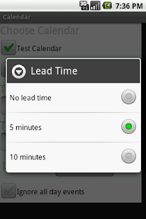 Locale Calendar Plugin - screenshot thumbnail