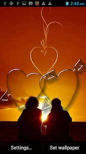 玩娛樂App|Romantic love wallpaper免費|APP試玩