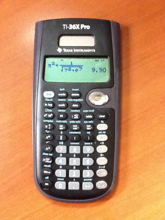 Eddie's Math and Calculator Blog: TI-36X Pro Review