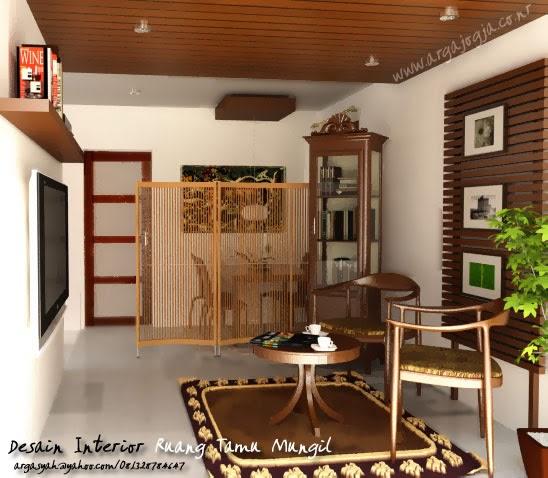 Dalam Lemari 1 Terdapat 4 Kemeja Batik: Contoh Desain Ruang Tamu Minimalis 3X3 M