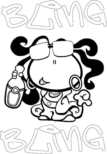 Bubblegum coloring pages | Coloring Pages