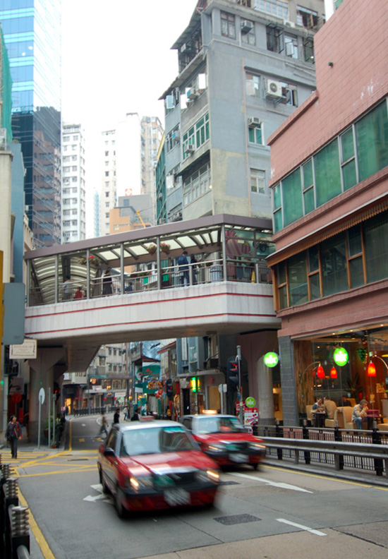 The Escalators of Hong Kong