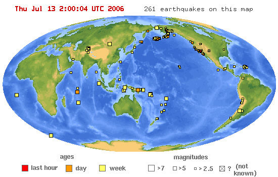 USGS Earthquake RSS
