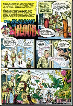 DC Ghosts Issue No 39 June 1975 The Blossoms of Blood Page 1