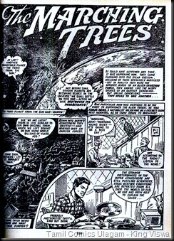 Hawk Comics Holiday Super Special Fleetway Stories Page 259 Marching trees