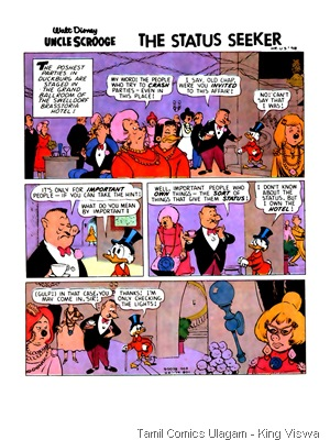 Walt Disney - Uncle Scrooge - Status Seeker