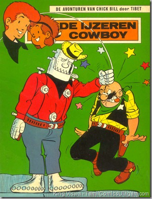 Chick Bill No 03 Mini Lion Issue No 33 Irumbi CowBoy