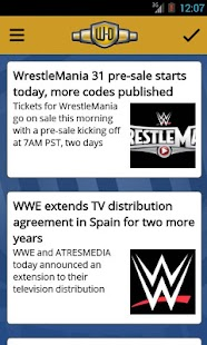 Wrestling-Online.com News- screenshot thumbnail