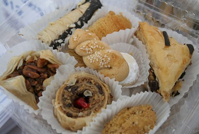 Greek pastries