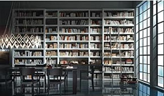 Bookshelves in Dining Rooms charlespage co uk