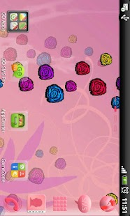GO Launcher EX Theme Flowers- screenshot thumbnail