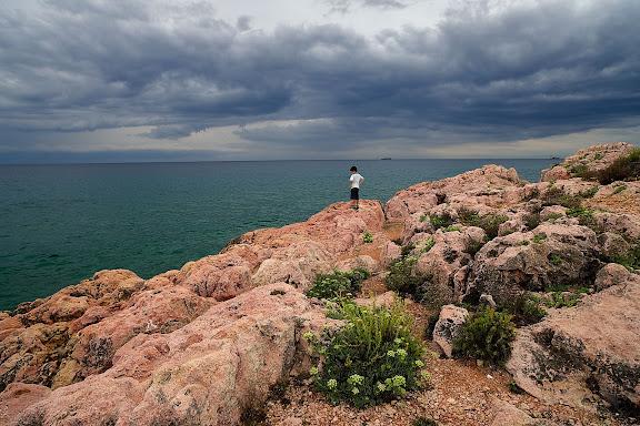 La punta de l'Arrabassada Tarragona, Tarragonès, Tarragona