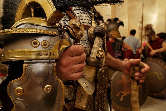 Ludi Romani. Festival internazional della civilta ' e cultura romana. 1a edición, Museo de la Civilización Romana (Museo della Civiltà Romana), situado en la zona EUR.Roma, Italia.