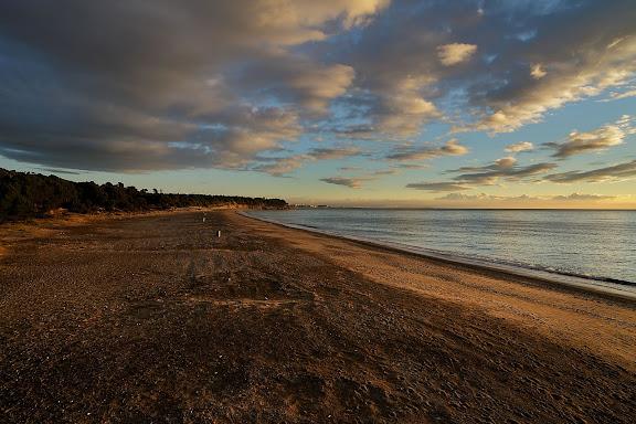 Platja del Torn (platja nudista).Espai d'Interés Natural la Rojala platja del Torn.Hospitalet de l'Infant i Vandellòs, Baix Camp, Tarragona