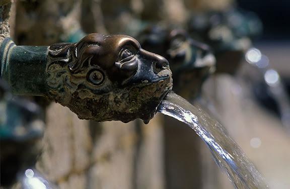 Font dels Comptes o de les Canelles, Santa Coloma de Queralt, Conca de Barberà, Tarragona 2004.02