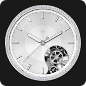 Silver Watch Face for Women