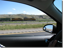 1477 Train at Point of Rocks WY