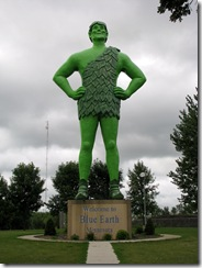 6964  Jolly Green Giant Blue Earth MN