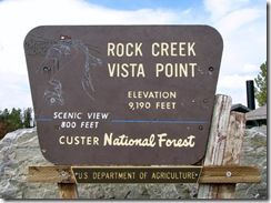 6059 Rock Creek Vista Point Beartooth Scenic Highway