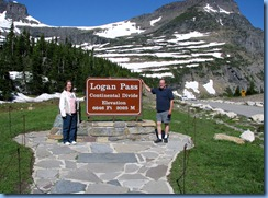 9576 Logan Pass Visitor Center Going To The Sun Road GNP MT