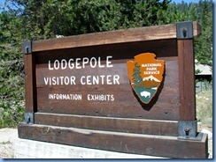 2513 Lodgepole Visitor Center SNP CA
