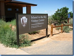 5255 Visitor Center Canyonlands National Park UT