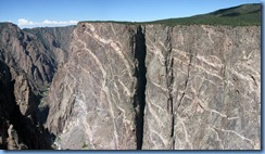 6134 Black Canyon of the Gunnison National Park South Rim Rd Painted Wall CO Stitch