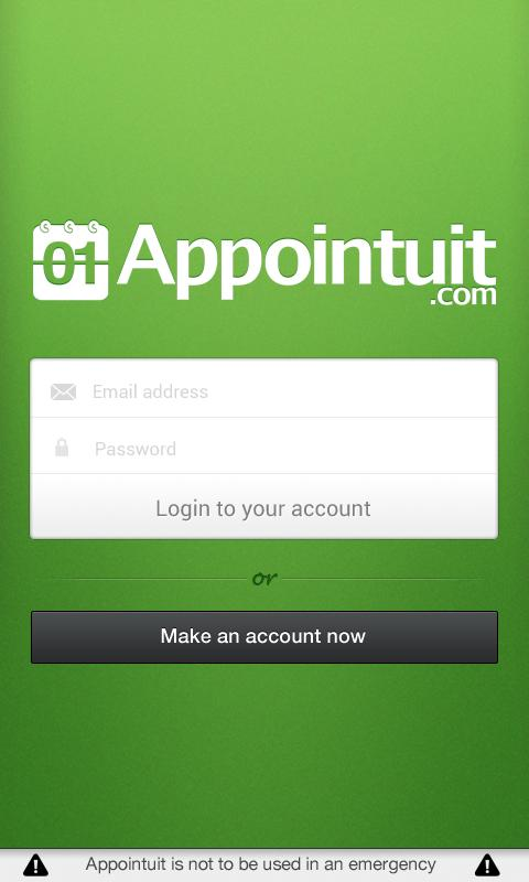 Appointuit- screenshot