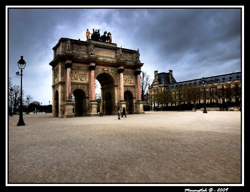 Photomatix Arc Triomphe des Tuileries