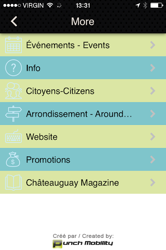Châteauguay Community App
