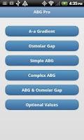 Screenshot of ABG Pro