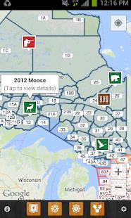 iHunter Ontario screenshot