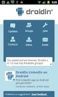 Screenshot of Droidin